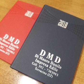 agenda tascabile personalizzata con serigrafia ad un colore