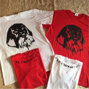 maglietta personalizzata con stampa serigrafica fronte e retro
