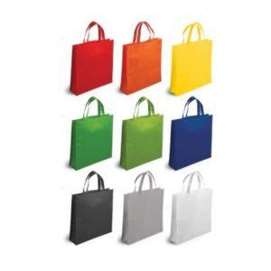 Borsa Shopping Manici Corti in tnt personalizzata in serigrafia