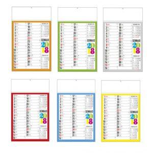 calendario svedese trimestrale stampa serigrafia
