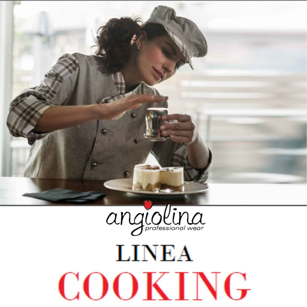 catalogo abbigliamento chef personalizzato
