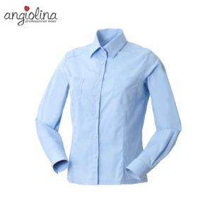 camicia da donna con maniche lunghe personalizzata con ricamo