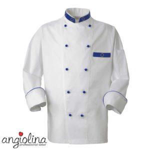 giacca da cuoco personalizzata con ricamo