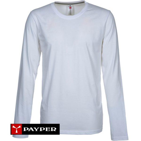 maglietta manica lunga girocollo 100% cotone