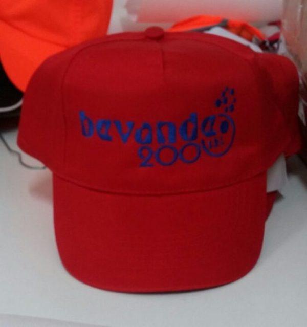cappelli personalizzati con ricamo per Bevande 2000