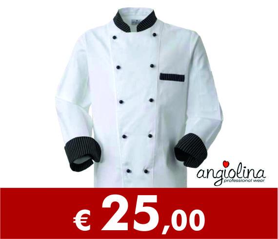 offerta abbigliamento da chef personalizzato con ricamo