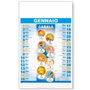 calendario illustrato cabala