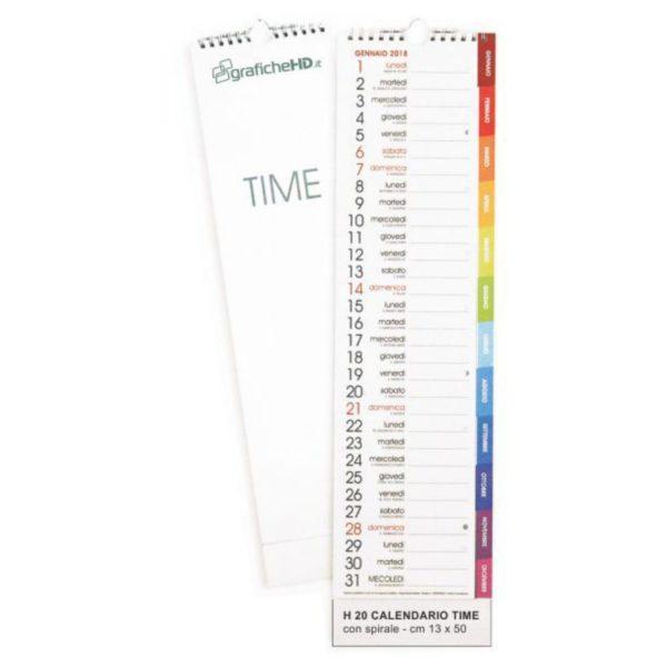 calendario time con spirale