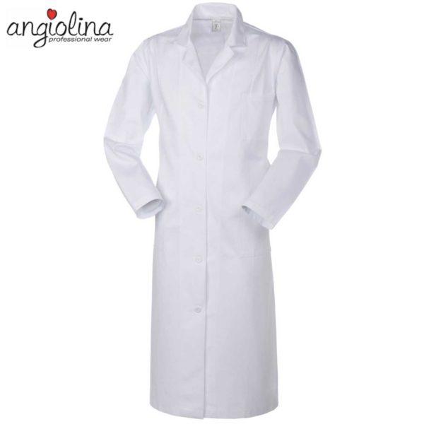 camice donna da medico con manica lunga personalizzato con ricamo