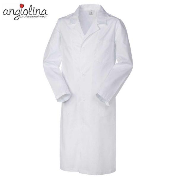 camice uomo da medico con manica lunga personalizzato con ricamo