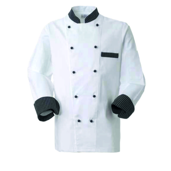 giacca da cuoco personalizzabile con ricamo