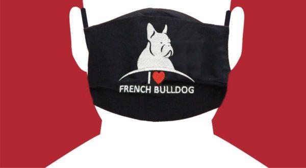 mascherina bulldog