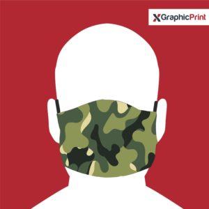 mascherina camouflage