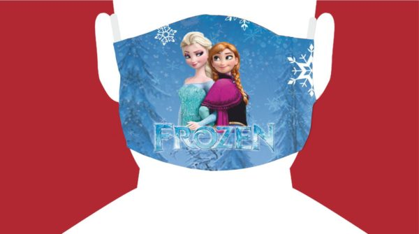 mascherina personalizzata frozen