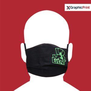 mascherina personalizzata nera