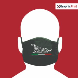 mascherina personalizzata setter
